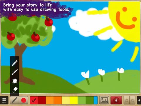 My story book maker for kids appydazeblog for Online drawing maker
