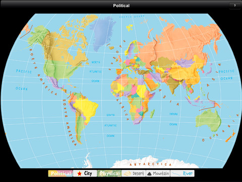 Kids world maps appydazeblog teaches kids ages 5 9 about the major geographical features of the world using 6 different maps political physical cities deserts mountains gumiabroncs Images