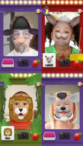 Mask Jumble Animals