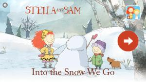 into the snow