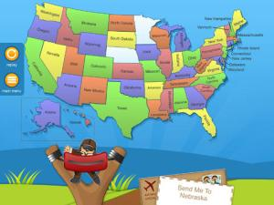 US Geography with Flat Stanley