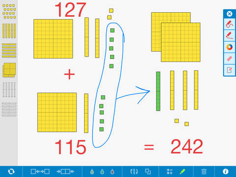 7 Math Manipulatives for your Digital Toolkit | appydazeblog
